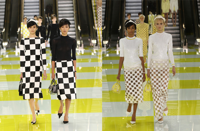 Louis Vuitton ss 2013 la Saptamana Modei de la Paris