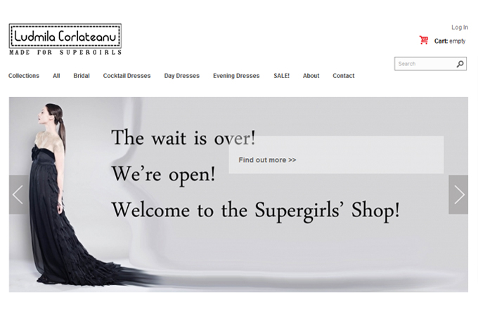 Shop Online Ludmila Corlateanu