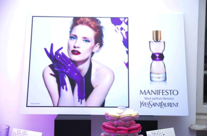 Lansarea parfumului MANIFESTO de la YSL