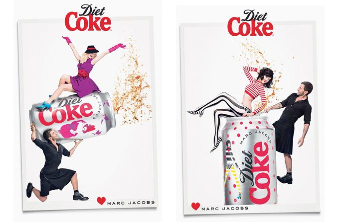 Marc Jacobs, imaginea noii campanii Diet Coke