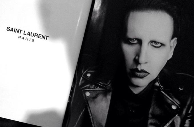 Marilyn Manson, imaginea Saint Laurent