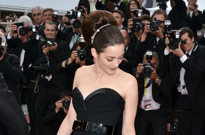 Vedete machiate de profesionistii Dior la Cannes
