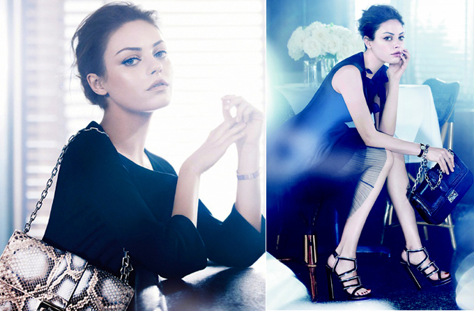 MILA KUNIS – imaginea Christian Dior