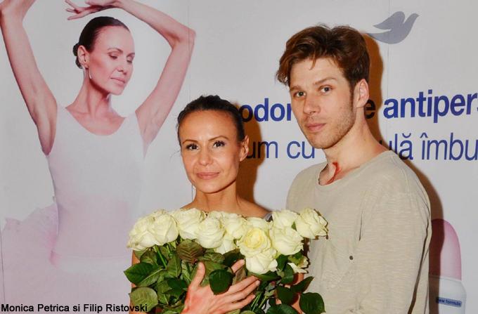 Prim-balerina Monica Petrica, ambasadoarea Dove