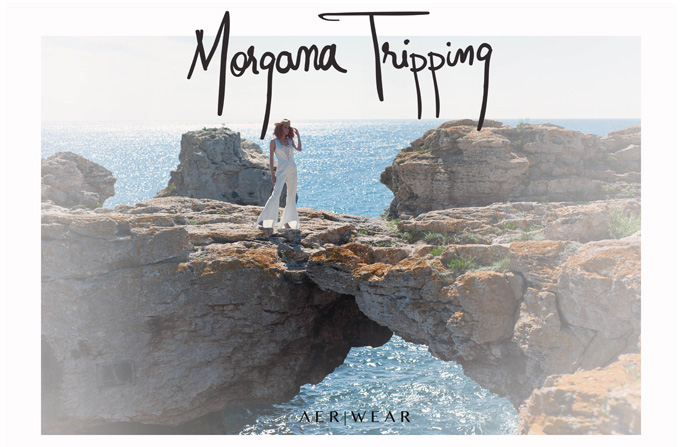 Morgana Tripping – Colectia Aer Wear Cruise 2013