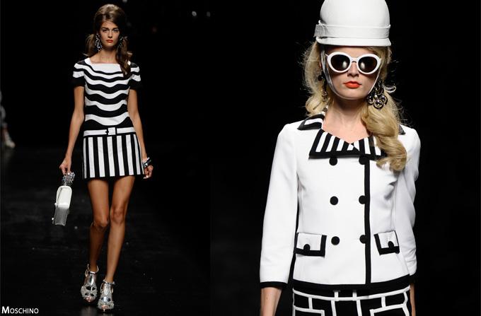 Hot Trend 2013: Dungile alb-negru