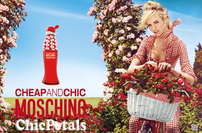 Parfumul MOSCHINO Chic Petals