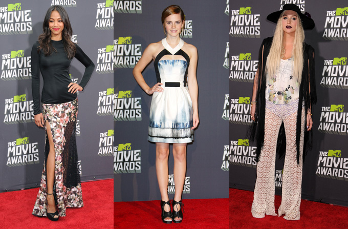 Best & Worst Dressed @ MTV Movie Awards 2013
