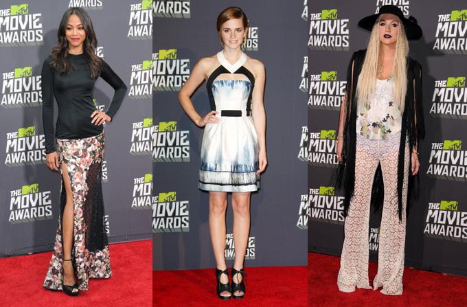 Best & Worst Dressed @ MTV Movie Awards 2013