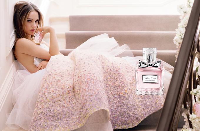 Natalie Portman, imaginea parfumului Miss Dior Blooming Bouquet