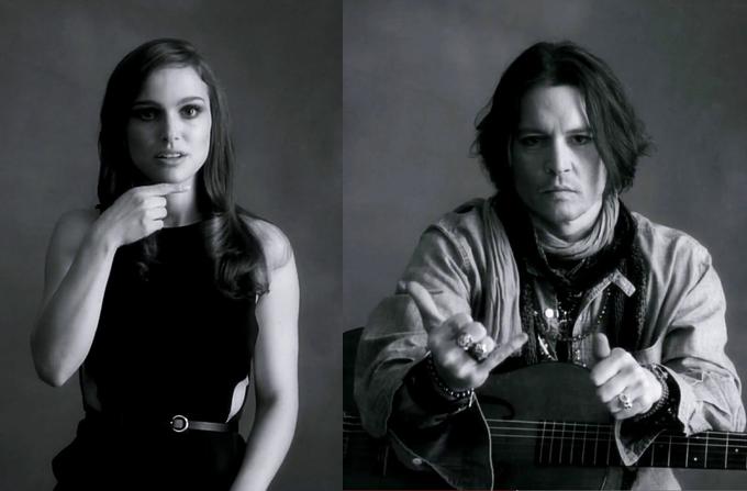 Natalie Portman si Johnny Depp in noul videoclip al lui Paul McCartney