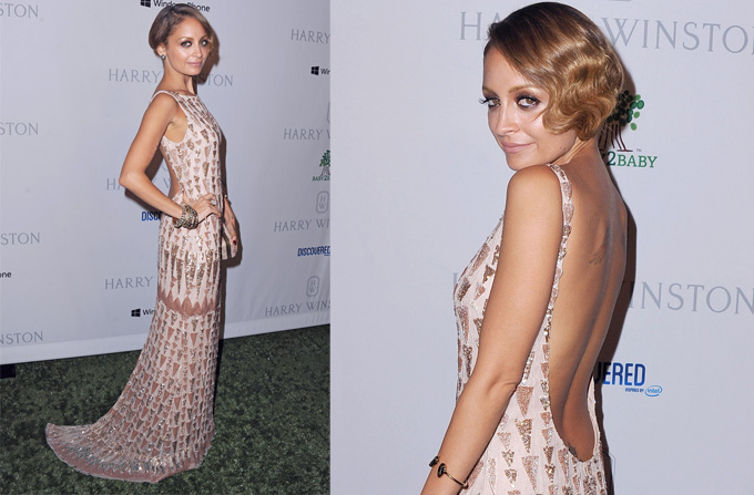 Nicole Richie – intr-o rochie Lorena Sarbu