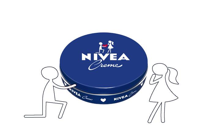 Cutia dragostei de la Nivea