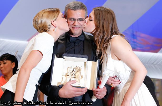 Marele castigator de la Cannes: 'La vie d'Adele' de Abdellatif Kechiche