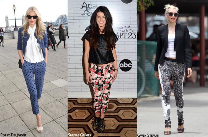 Hot: Pantalonii cu imprimeuri