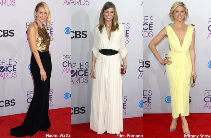 Tinutele preferate de la People's Choice Awards 2013
