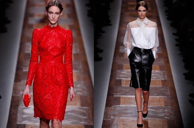 Fall 2012: Se poarta hainele din piele!