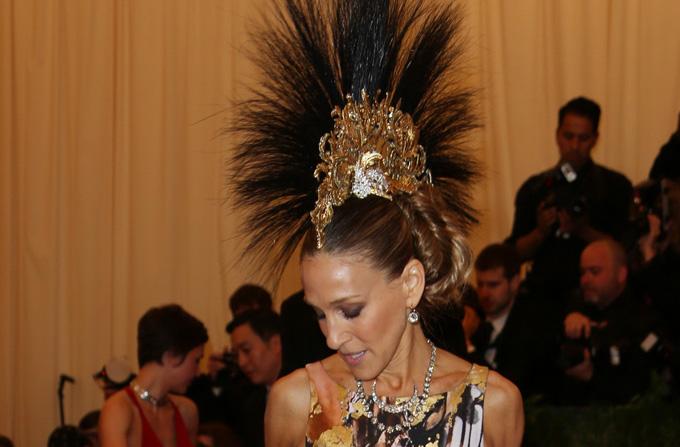 Vedetele celebreaza expozitia 'PUNK: Chaos to Couture'