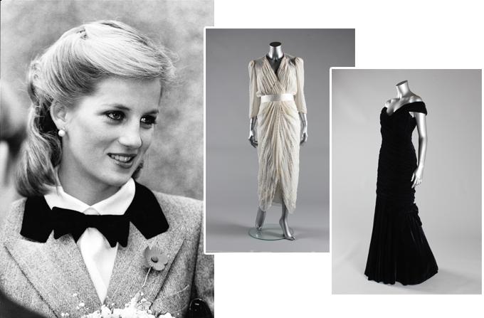 10 rochii ale Printesei Diana, vandute cu 1,2 milioane de dolari