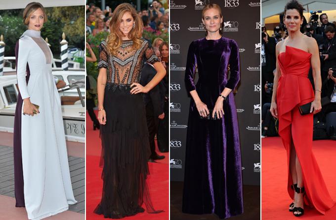 Cele mai frumoase rochii de la Festivalul de la Venetia