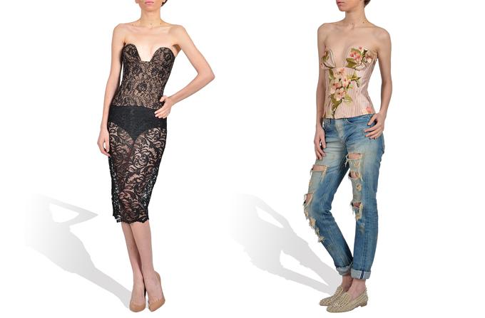 Selon reinventeaza corsetul perioadei Rococo