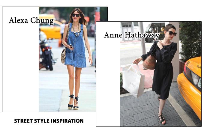 Street Style: Vedetele ca sursa de inspiratie