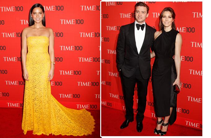 Vedetele la Gala Time 100