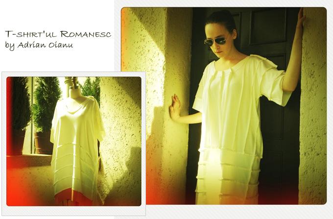 T-shirt'ul romanesc de Adrian Oianu