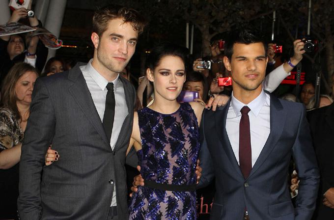 Vedetele la premiera Twilight: Breaking Dawn