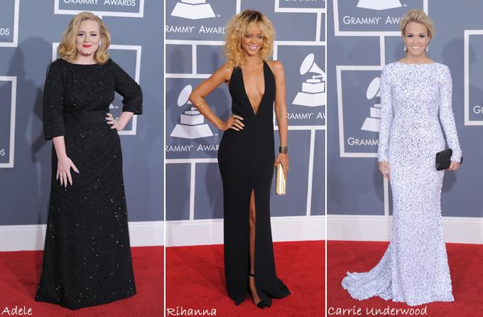Vedetele la Premiile Grammy 2012