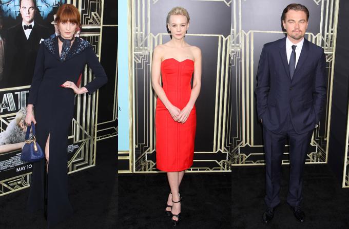 Vedetele la premiera mondiala a filmului The Great Gatsby