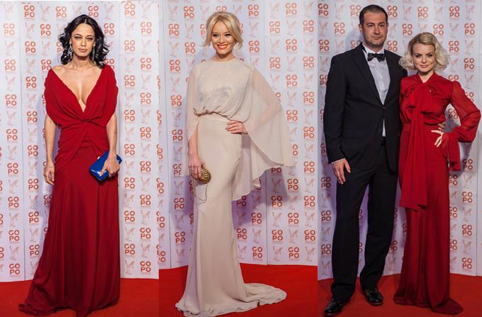 Vedetele pe covorul rosu al Premiilor Gopo 2012