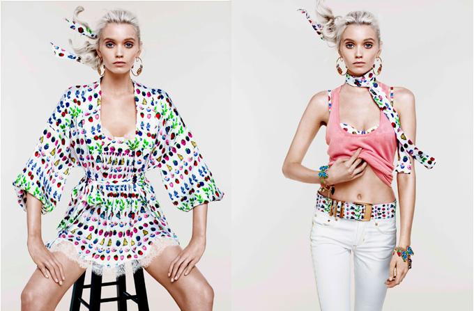 VERSACE lanseaza o colectie de croaziera pentru H&M