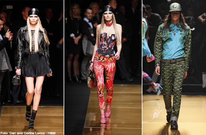 VERSACE for H&M Fashion Show – New York