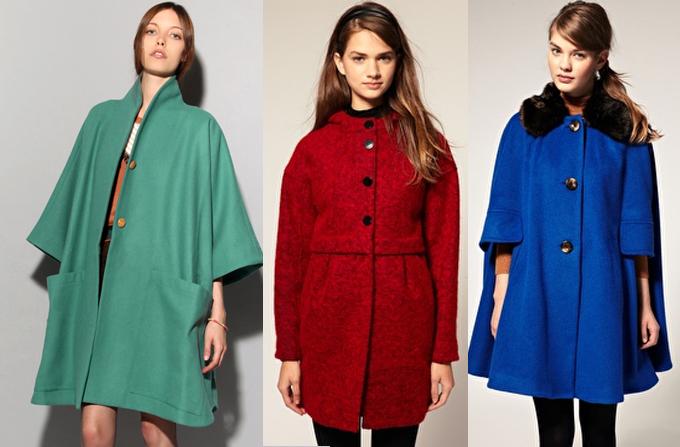 Paltoane colorate pentru aceasta iarna