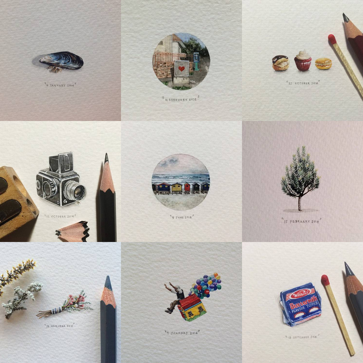 365 Postcards for Ants. Lorraine Loots.