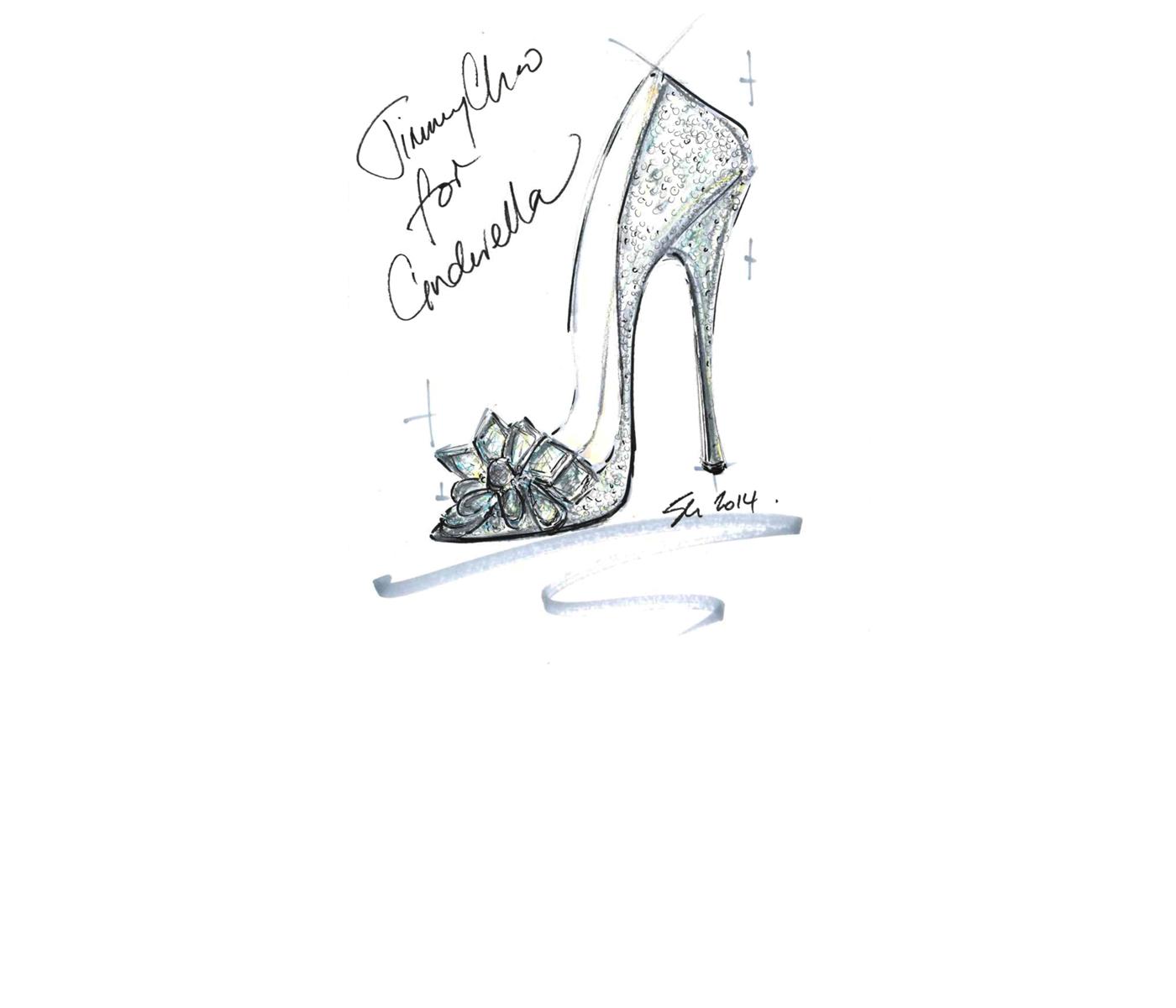 Pantofii Cenusaresei, inspiratie pentru designeri