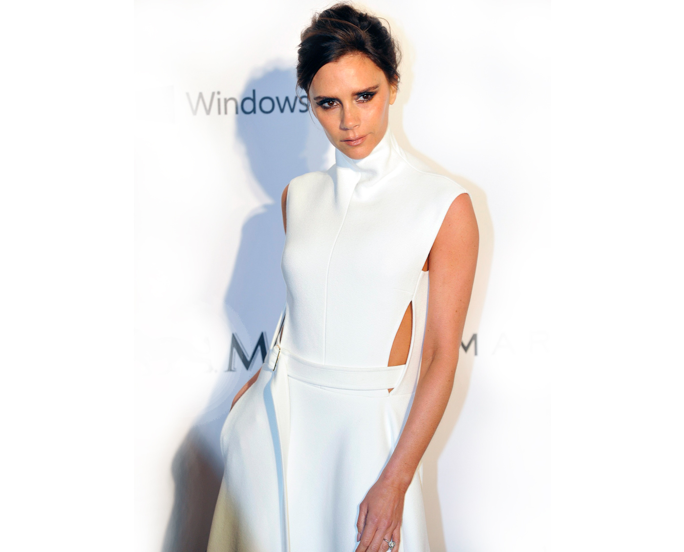 """Victoria Beckham. """"Less is More."""""""