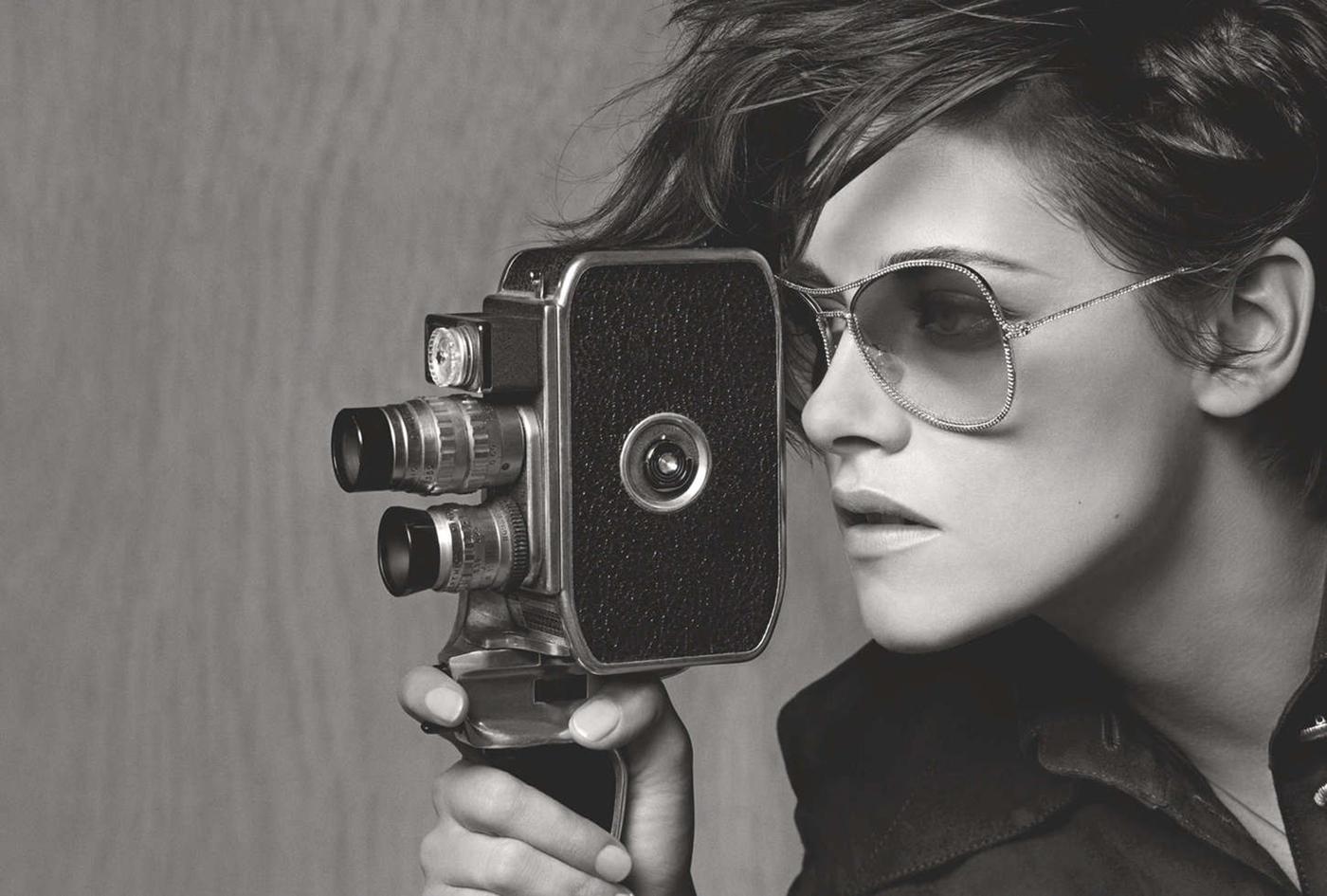 Kristen Stewart. Chanel Eyewear.