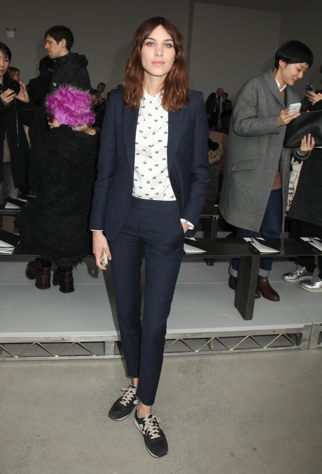 Calvin Klein show, Autumn Winter 2014 Mercedes-Benz Fashion Week, New York, America - 13 Feb 2014