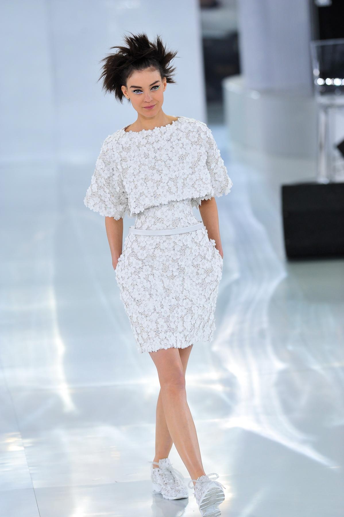 Haute-Couture Fashion Week - Chanel Runway - Paris