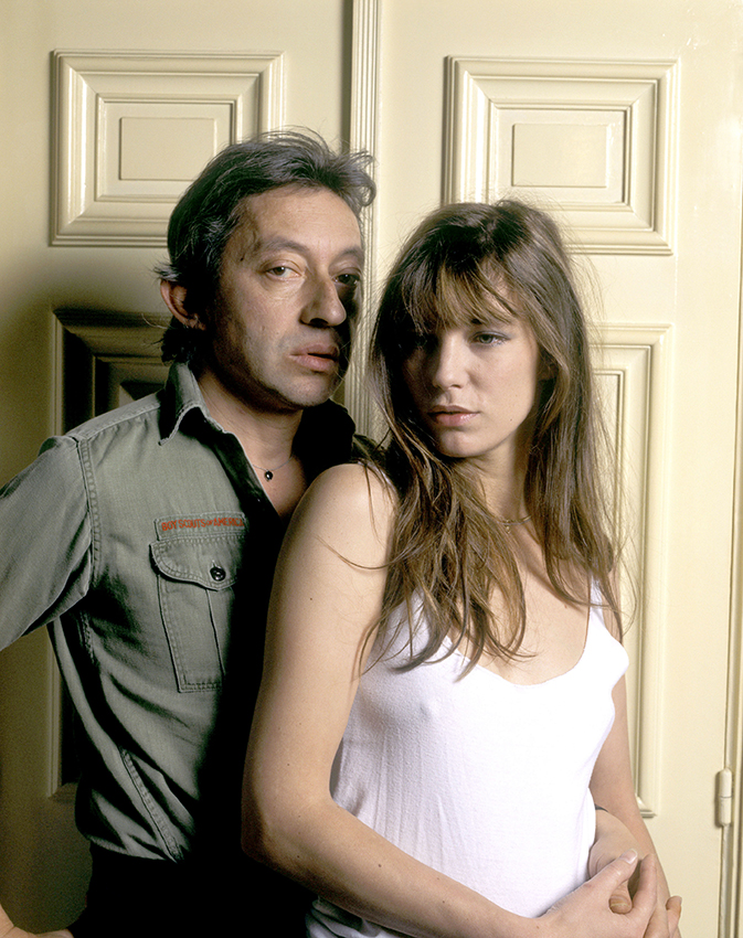 File pictures of late French singer Serge Gainsbourg