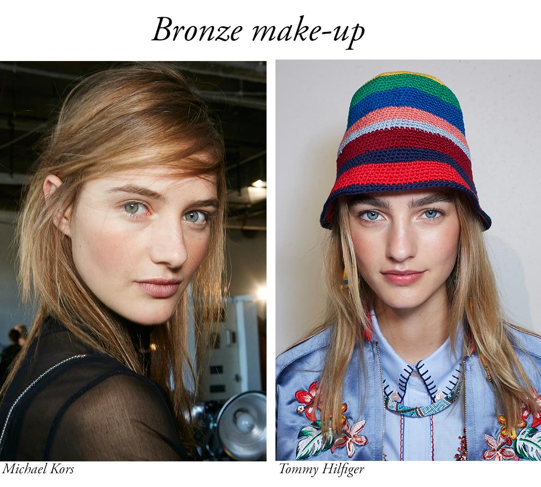 tendinte make-up bronze make-up