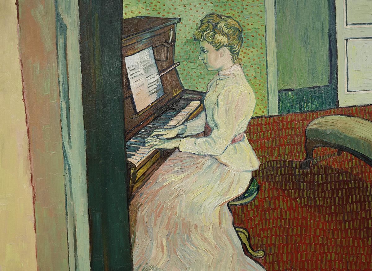 Amazing art of Van Gogh movie