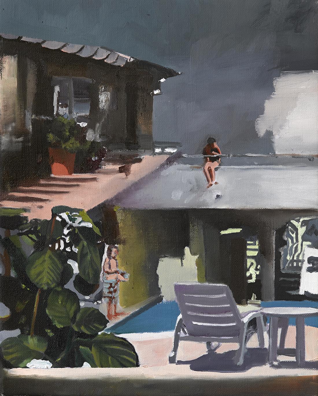 Marius Bercea, 40 x 50 cm, ulei pe panza, 2015,