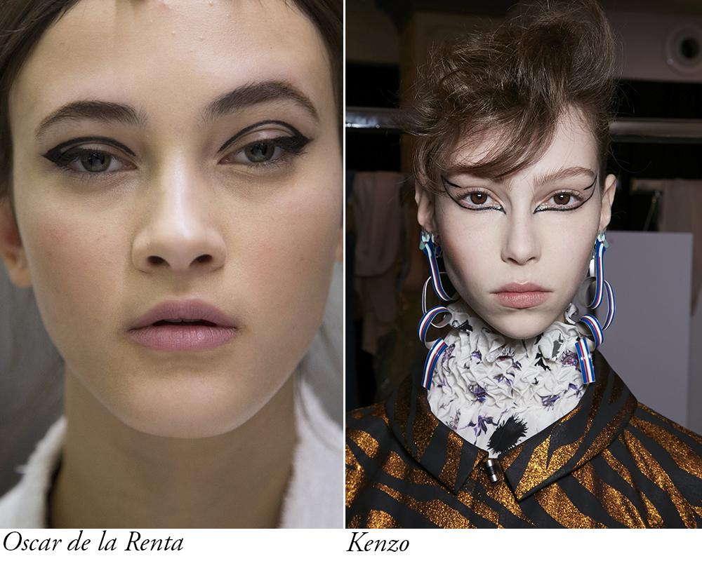 tendinte in machiaj pentru toamna iarna 2016 2017 detalii grafice cu eyeliner