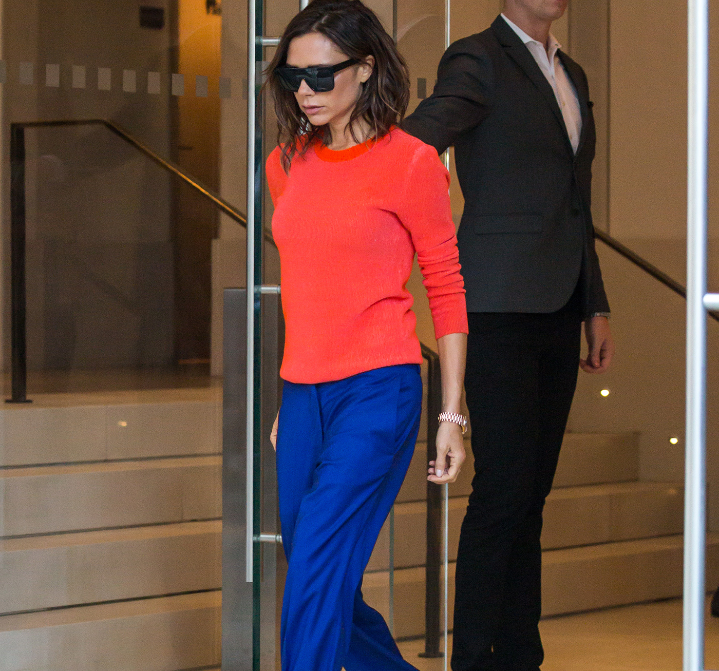 Victoria Beckham. Posh in New York.