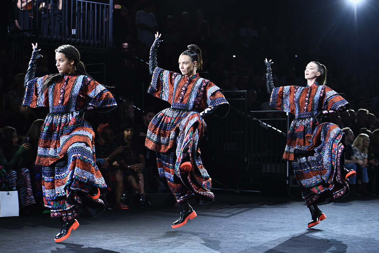 KENZO x H&M Fashion Show @ New York