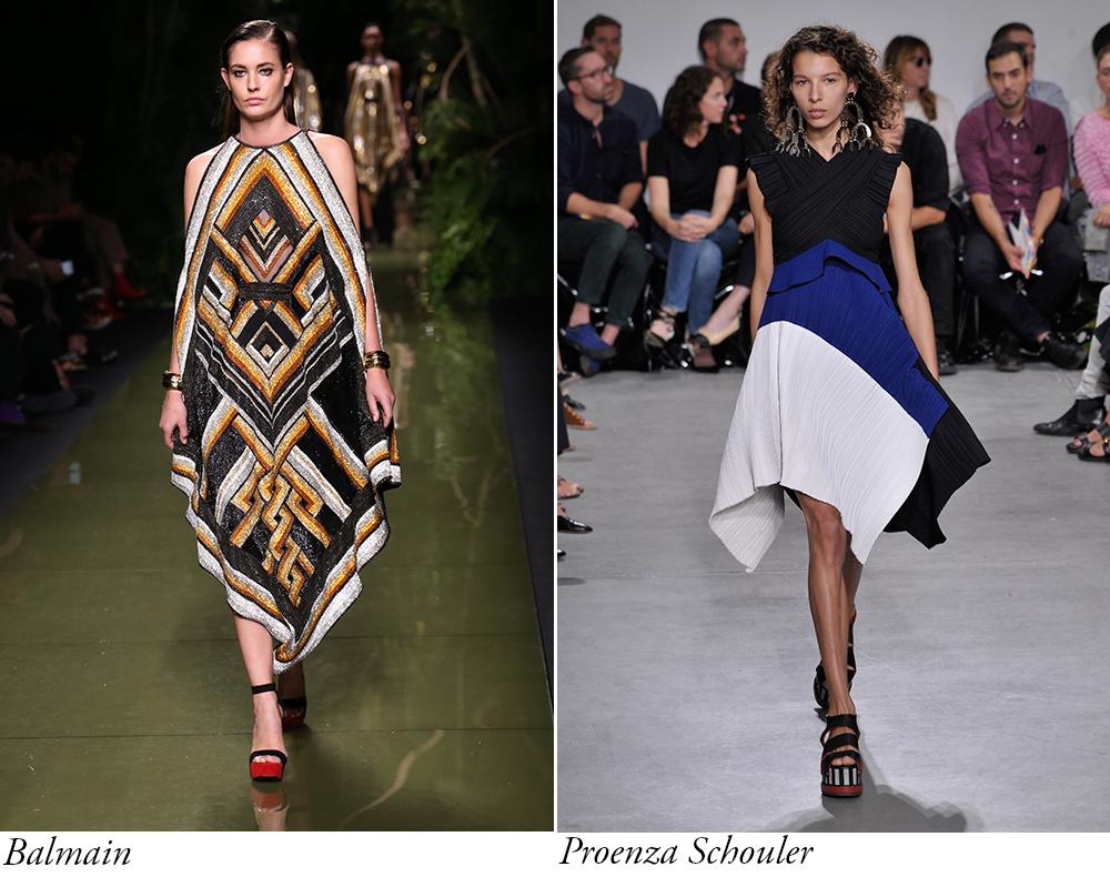 tendinte_piese vestimentare care sa te inspire in sezonul primavara vara 2017_rochia asimetrica