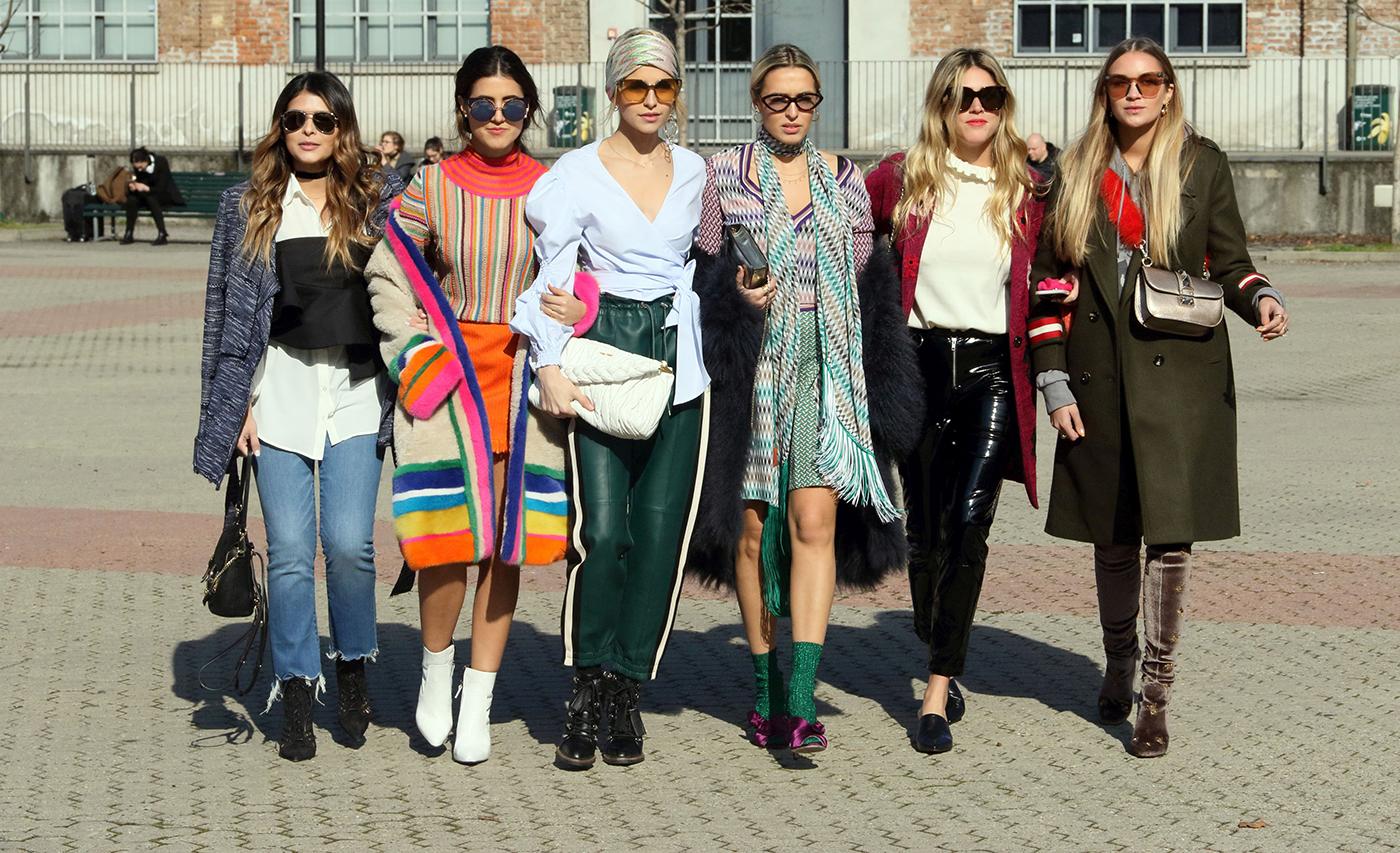 Moda strazii. Inspiratie de la Milano.